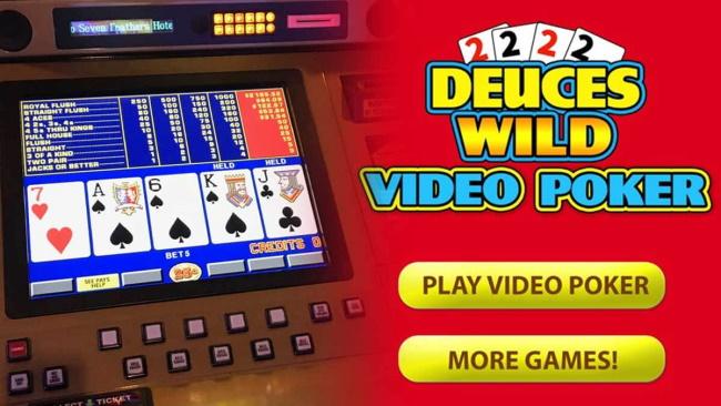 Deuces Wild Video Poker Games