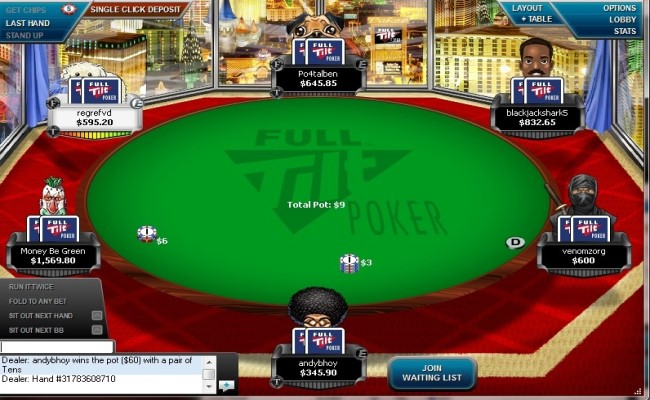 Licensed Full Tilt Poker