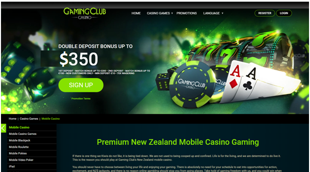 Gaming Club NZ online casino-Guide to Open your Online Casino Account to Play Pokies