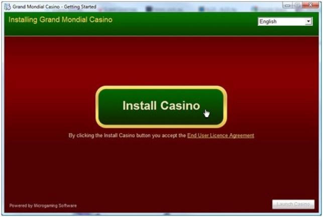 Grand Mondial Casino App install