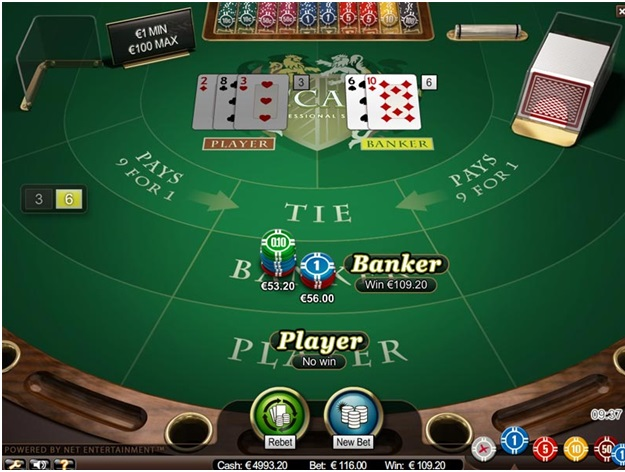 How to play Baccarat with mobile