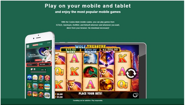 How to play casino mate on mobile