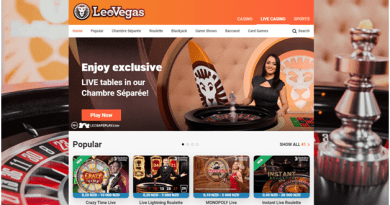 Leo Vegas Chambre Separee and Game Shows in NZD to Play and Win