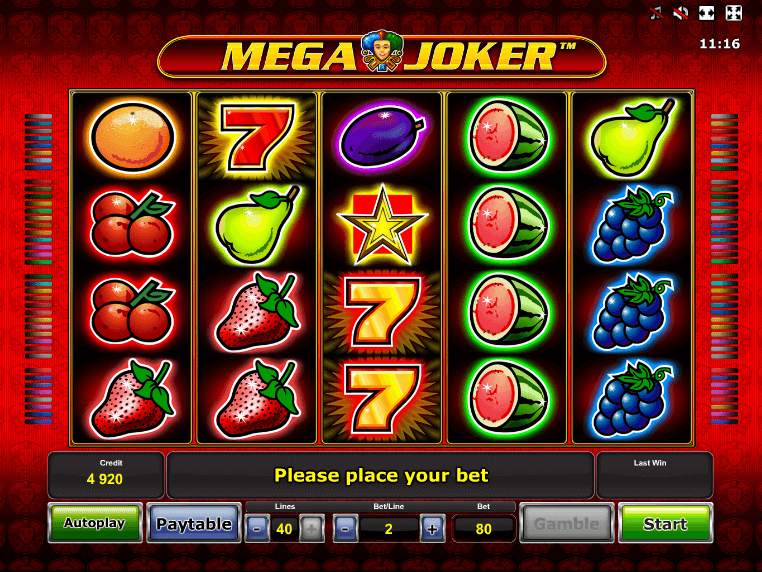 mega joker pokies that pay