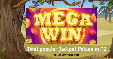 Most popular Jackpot Pokies in NZ