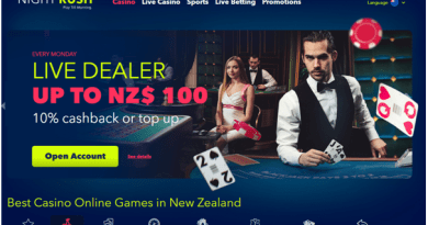 Night Rush Casino NZ