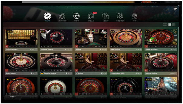 Platinum Play Live Casino NZD- roulette
