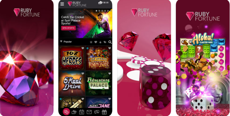 Ruby Fortune Casino App