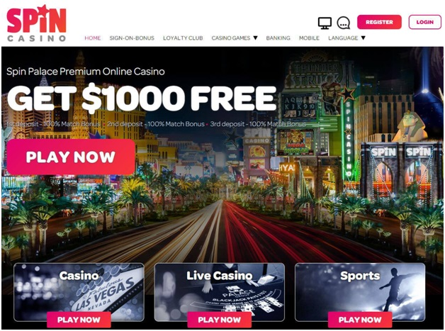 How to Play at Spin Palace Casino?