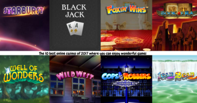 The 10 best online casinos of 2017 where you can enjoy wonderful games