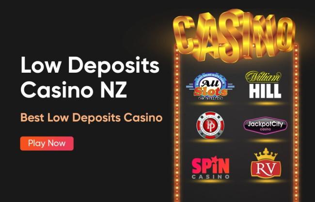 The 6 Best Low Deposits Casino NZ