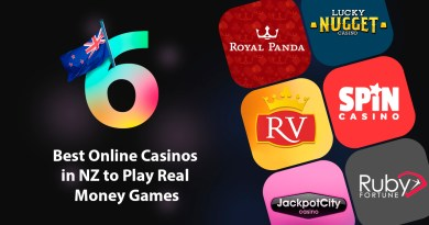 The 6 Best Online Casinos in NZ to Play Real Money Games