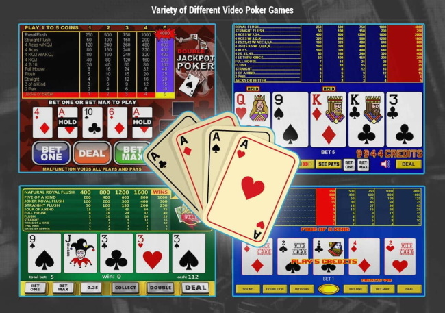 Video Poker Games and Variations