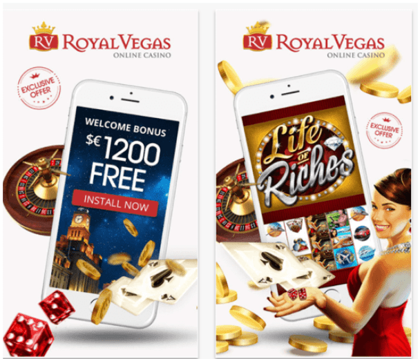 Royal Vegas offers awesome bonuses and free spins