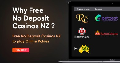 Why Free No Deposit Casinos in New Zealand