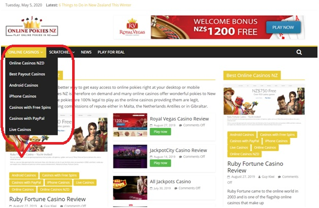 Why are you searching online casino?