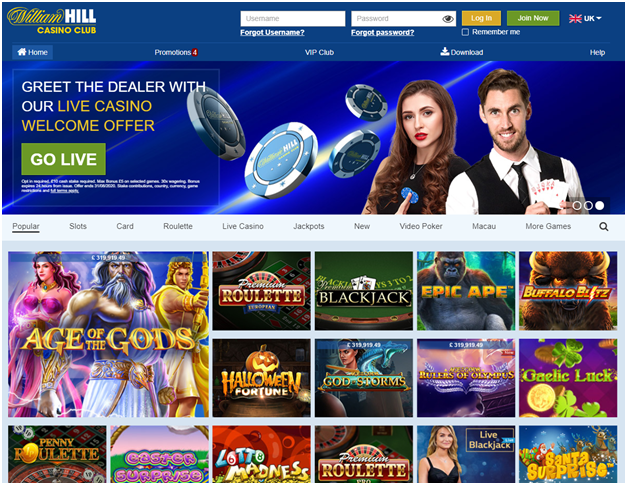 William Hill Casino NZ