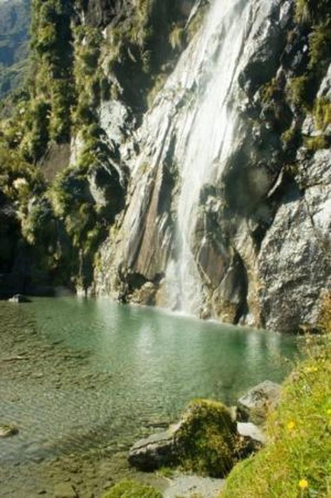 Wishbone Falls, Mount Aspiring - Top 5 Wild Swimming Places in New Zealand