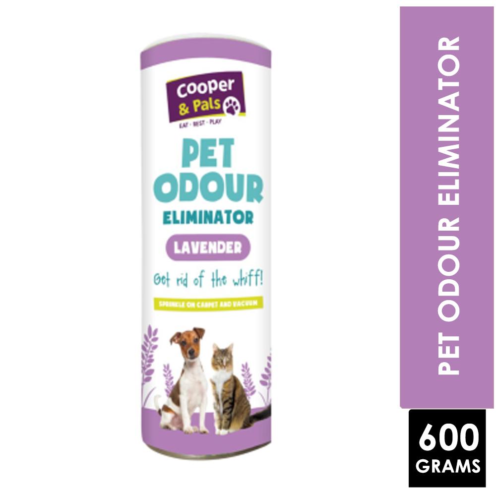 COOPER & PALS PET ODOUR ELIMINATOR LAVENDER 600G | Online Pound Store