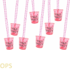 2 X LADIES NIGHT HEN PARTY SHOT GLASSES