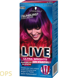 SCHWARZKOPF LIVE 110 SUNBURST COLLECTION