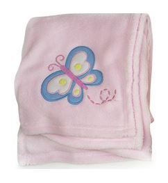 Fleece Baby Blanket Luxury Unisex Soft for Babies from Newborn 'First Steps'