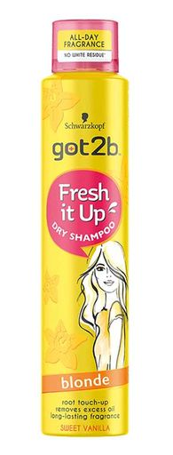 Schwarzkopf Got2b Fresh It Up Dry Shampoo Blonde 250ml