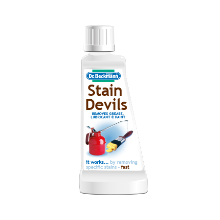 Dr. Beckmann Stain Devil Removes Grease, Lubricant & Paint 50ml