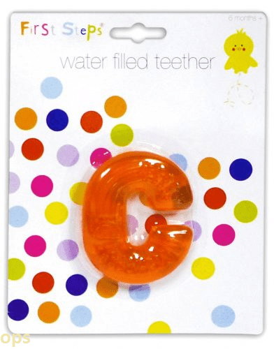 First Steps Water Filled Teether