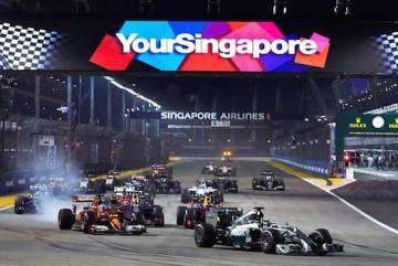 Formula 1 - Veľká cena Singapuru online prenos