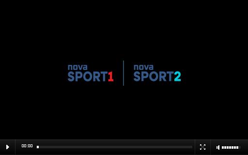 Sledujete živé vysílání kanálu Nova Sport!
