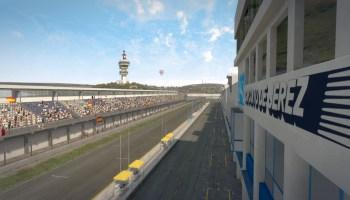 Codemasters F1 2013 Jerez Pit View External