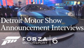 Forza 6 Announcement Interviews