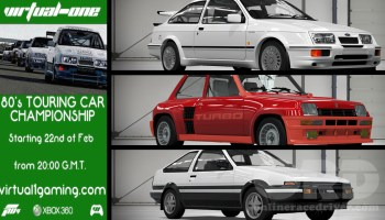 Virtual One 80s Touring Car Series Featured Content Forza 4 ORD onlineracedriver