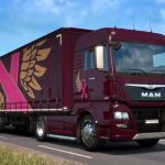 ATS and ETS 2 Turn Pink For A Cancer Charity Event