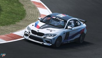 The 2020 BMW M2 CS Racing released for rFactor 2