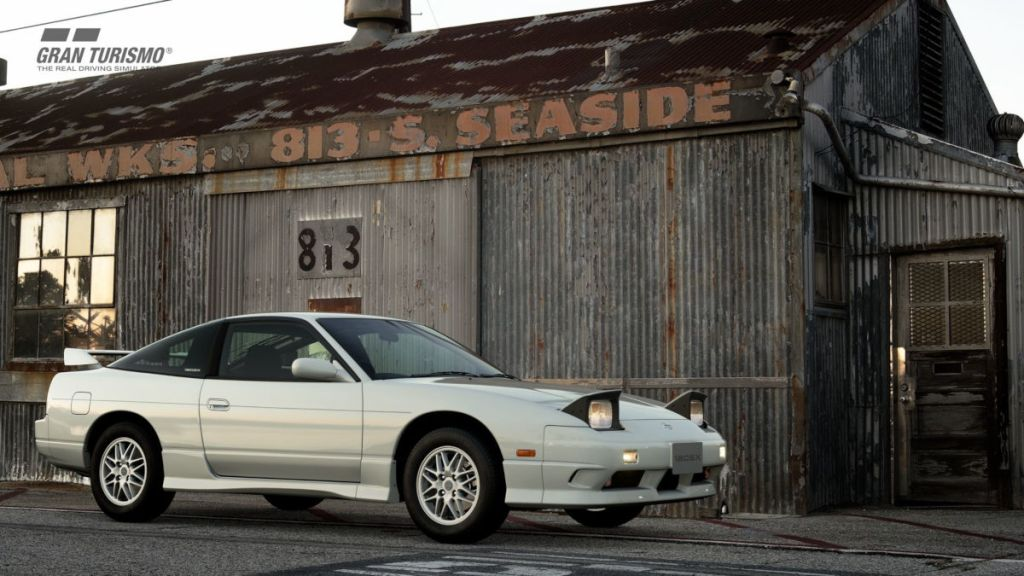 The 1996 Nissan 180SX Type X  is the third new car in GT Sport update 1.56
