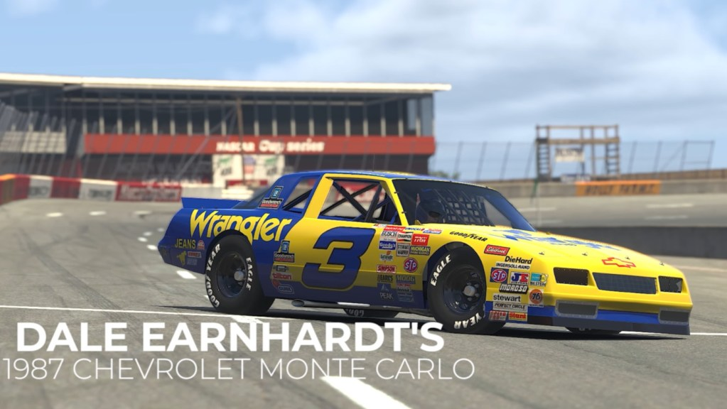 Dale Earnhardt's 1987 Chevrolet Monte Carlo