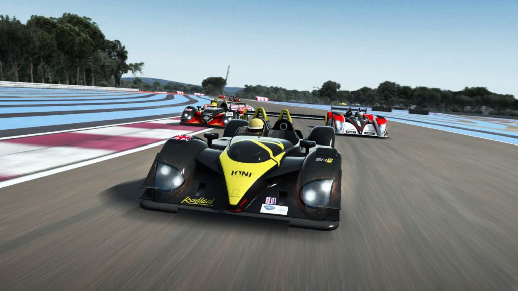 The lates RaceRoom update improves AI and FR Junior physics