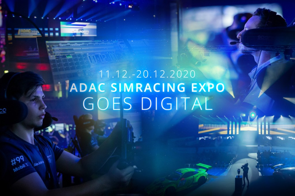 The 2020 ADAC SimRacing Expo Goes Virtual in December