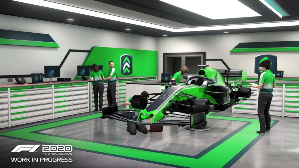 More information revealed in the F1 2020 My Team Mode Details and Video