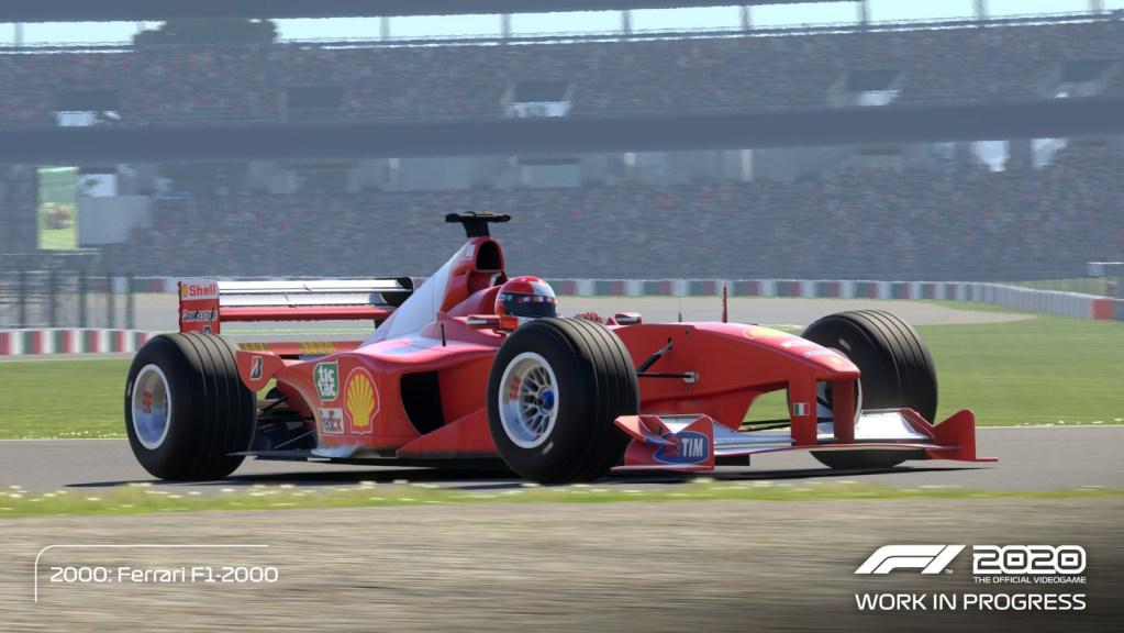 The Michael Schumacher 2000 Ferrari F1-2000