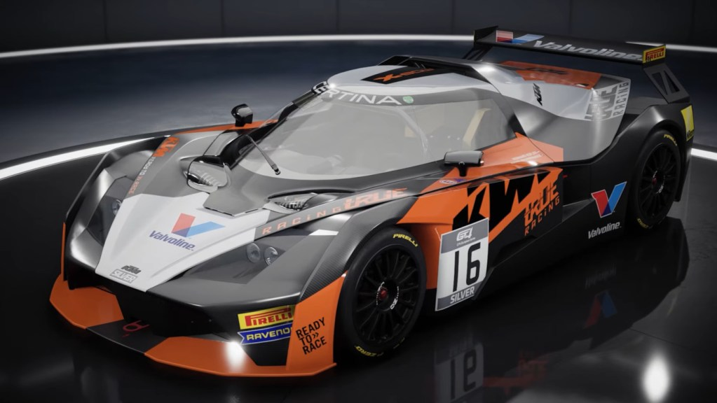 The KTM X-Bow GT4 in Assetto Corsa Competizione