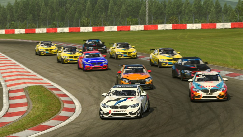 Plenty of takers for the first BMW Motorsport Sim Racing Track Day on iRacing