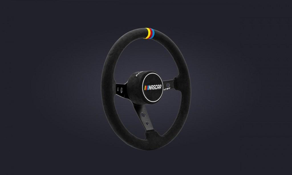 The Fanatec Podium Wheel Rim NASCAR