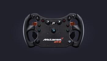 New Fanatec CSL Elite Steering Wheel McLaren GT3 V2 Launched