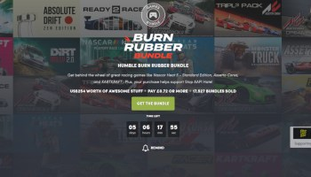 Humble Burn Rubber Bundle - KartKraft And Lots More