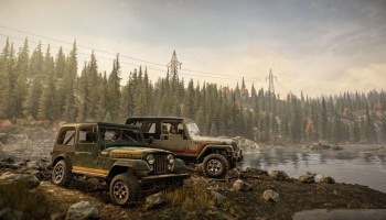 The SnowRunner Jeep Dual Pack DLC is available now