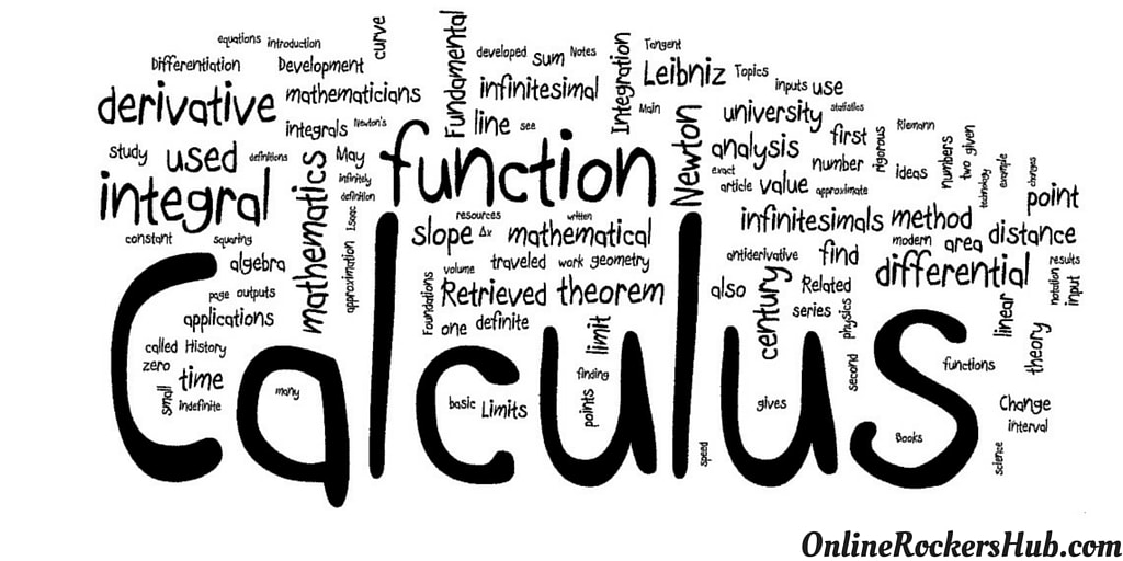 Calculus origin and applications