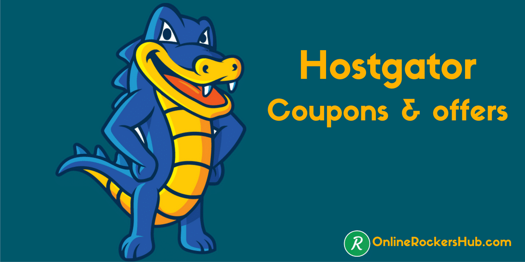 Hostgator coupons, discounts and offers